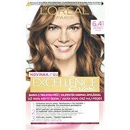 ĽORÉAL PARIS Excellence Creme 6.41 Hnědá oříšková - Barva na vlasy