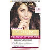 ĽORÉAL PARIS Excellence Creme 4.15 Hnědá ledová - Barva na vlasy