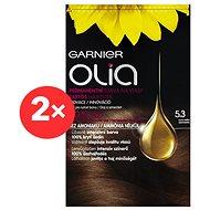 GARNIER Olia 5.3 Zlatá hnědá 2× - Barva na vlasy