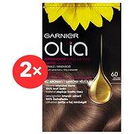 GARNIER Olia 6.0 Světle hnědá 2× - Barva na vlasy
