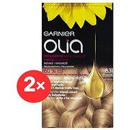 GARNIER Olia 8.31 Zlatě popelavá blond 2× - Barva na vlasy