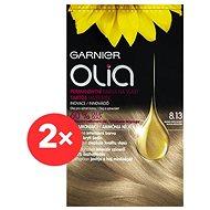 GARNIER Olia 8.13 Oslnivá světlá blond 2× - Barva na vlasy