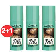ĽORÉAL PARIS Magic Retouch 3 Brown 3 × 75 ml