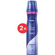 NIVEA Care&Hold Styling Spray 2× 250 ml