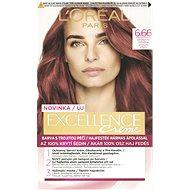 ĽORÉAL PARIS Excellence Creme 6.66 Intenzivní červená - Barva na vlasy