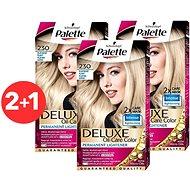 SCHWARZKOPF PALETTE Deluxe 230 Platinově plavý 3× 50 ml - Zesvětlovač vlasů