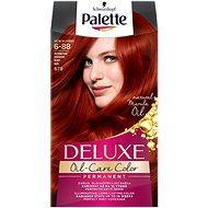SCHWARZKOPF PALETTE Deluxe 678 Intenzivní červený 50 ml - Barva na vlasy