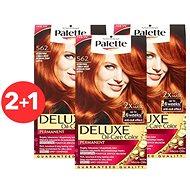 SCHWARZKOPF PALETTE Deluxe 562 Intenzivní zářivě měděný 3× 50 ml - Barva na vlasy
