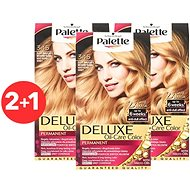 SCHWARZKOPF PALETTE Deluxe 345 Zářivě zlatý med 3× 50 ml - Barva na vlasy