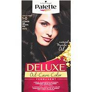 SCHWARZKOPF PALETTE Deluxe 900 Sytý přirozeně černý (50 ml) - Barva na vlasy