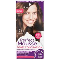 SCHWARZKOPF PERFECT MOUSE 600 - Light brown 35 ml - Hair Dye