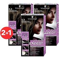 SCHWARZKOPF COLOR EXPERT 5-3 Přirozeně hnědý 3× 50 ml - Barva na vlasy