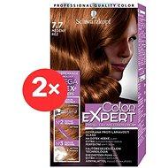 SCHWARZKOPF COLOR EXPERT 7-7 Měděný réz 2× 50 ml - Barva na vlasy