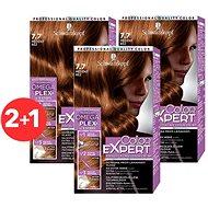 SCHWARZKOPF COLOR EXPERT 7-7 Měděný réz 3× 50 ml - Barva na vlasy