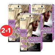 SCHWARZKOPF COLOR EXPERT 10-1 Ledová blond 3× 50 ml - Barva na vlasy