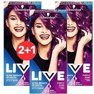SCHWARZKOPF LIVE Color XXL 94 Purple Punk 3× 50 ml
