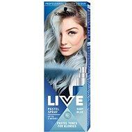 SCHWARZKOPF LIVE Pastel Spray Baby Blue 125 ml - Barevný sprej na vlasy