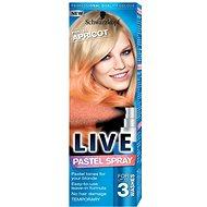 SCHWARZKOPF LIVE Pastel Spray Pastel Apricot 125 ml - Barevný sprej na vlasy