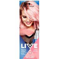 SCHWARZKOPF LIVE Pastel Spray Candy Cotton 125 ml - Barevný sprej na vlasy