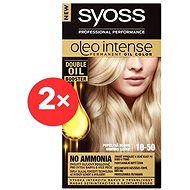 SYOSS Oleo Intense 10-50 Světlá popelavá blond 2× 50 ml