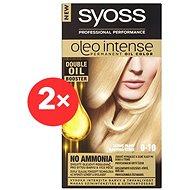 SYOSS Oleo Intense 9-10 Zářivě plavý 2× 50 ml