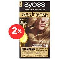SYOSS Oleo Intense 7-10 Přirozeně plavý 2× 50 ml