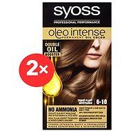 SYOSS Oleo Intense 6-10 Tmavě plavý 2× 50 ml