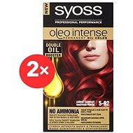 SYOSS Oleo Intense 5-92 Zářivě červený 2× 50 ml