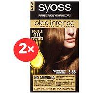 SYOSS Oleo Intense 5-86 Půvabně hnědý 2× 50 ml