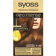 SYOSS Oleo Intense 4-60 Zlatohnědý 50 ml - Barva na vlasy