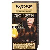 SYOSS Oleo Intense 4-18 Hnědá moka 50 ml - Barva na vlasy