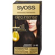 SYOSS Oleo Intense 2-10 Černohnědý (50 ml) - Barva na vlasy