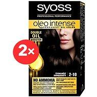 SYOSS Oleo Intense 2-10 Černohnědý 2× 50 ml