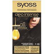SYOSS Oleo Intense 1-10 Intenzivně černý (50 ml) - Barva na vlasy