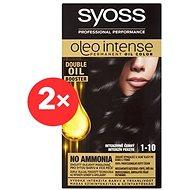 SYOSS Oleo Intense 1-10 Intenzivně černý 2× 50 ml