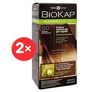 BIOKAP Nutricolor Delicato Bleaching Cream 0.0 (2× 140 ml)