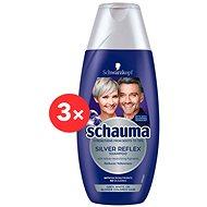 SCHWARZKOPF SCHAUMA Silver Reflex 3 × 250 ml - Silver šampon