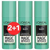 ĽORÉAL PARIS Magic Retouch 1 Black 3 × 75 ml