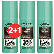 ĽORÉAL PARIS Magic Retouch 7 Cold Brown 3 × 75 ml