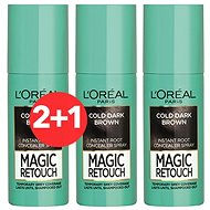 ĽORÉAL PARIS Magic Retouch 8 Cold Dark Brown 3 × 75 ml