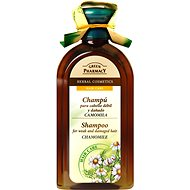 GREEN PHARMACY Shampoo For Weak And Damaged Hair Chamomile 350 ml - Šampon