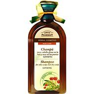 GREEN PHARMACY Shampoo For Oily Scalp and Dry Ends Ginseng 350 ml - Šampon