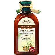 GREEN PHARMACY Balzám pro suché a poškozené vlasy Arganový olej a Granátové jablko 300 ml - Kondicionér