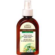 GREEN PHARMACY Herbal elixír pro křehké a poškozené vlasy 250 ml - Sérum na vlasy