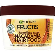 GARNIER Fructis Macadamia Hair Food Mask 390 ml - Maska na vlasy