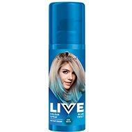 SCHWARZKOPF LIVE Colour Sprays Blue Twist (120 ml) - Barevný sprej na vlasy