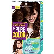 SCHWARZKOPF PURE COLOR 5.5 Zlatá čokoláda 60 ml - Barva na vlasy