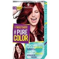 SCHWARZKOPF PURE COLOR 6.88 Malinová červená 60 ml - Barva na vlasy