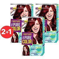 SCHWARZKOPF PURE COLOR 6.88 Malinová červená 3× 60 ml - Barva na vlasy