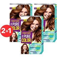 SCHWARZKOPF PURE COLOR 7.57 Sladce karamelová 3× 60 ml - Barva na vlasy
